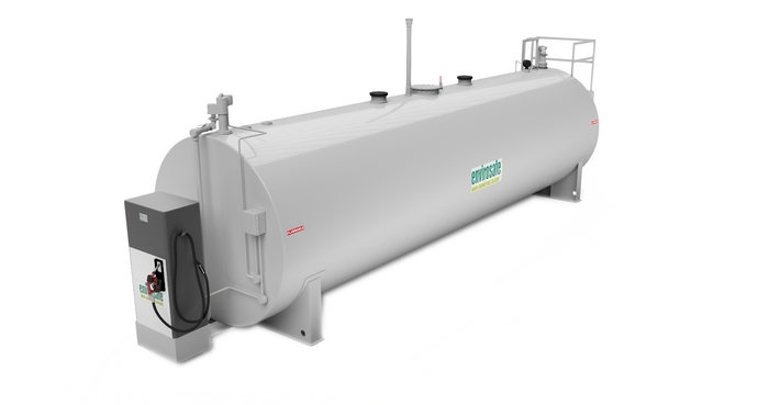dispenser fuel storage tank