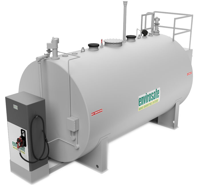 commercial bulk fuel tank